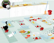 Fluffys kitchen adventure online játék