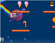Nyan cat lost in space cicás játékok