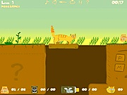 Orange cat adventure online játék